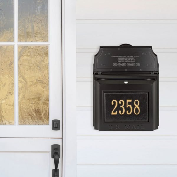 wall mount mail boxes