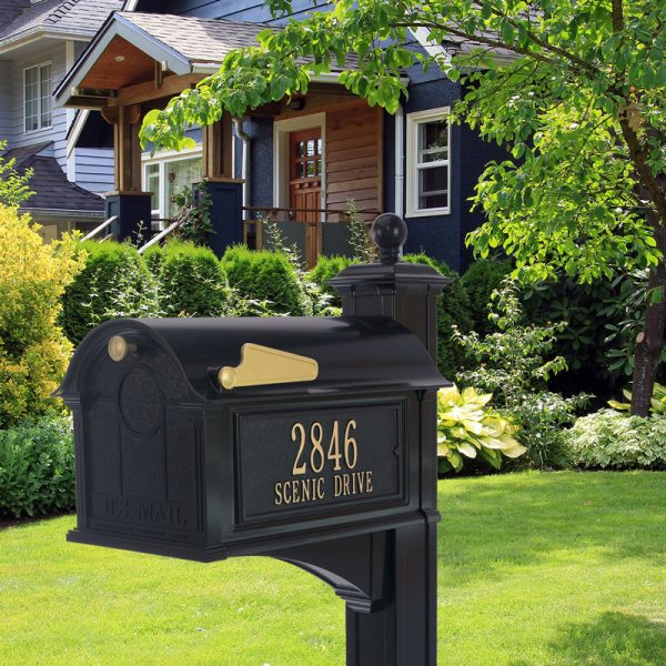 residential curbside mailboxes