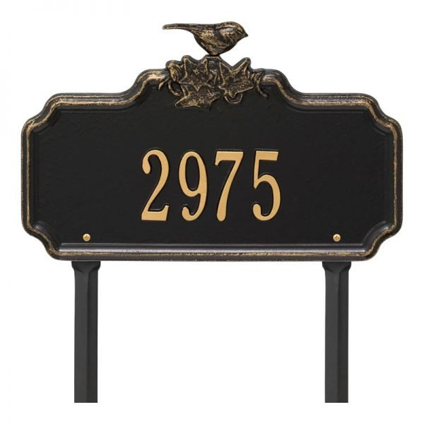house name and number plaques